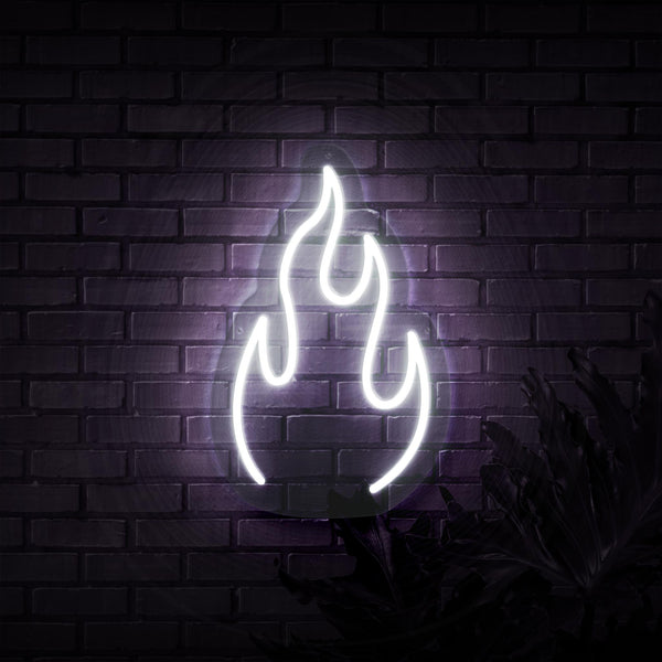Fire Neon Sign - Sketch & Etch Neon