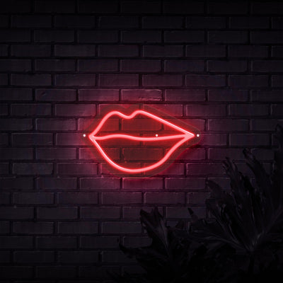 Lips Neon Sign - Sketch & Etch Neon