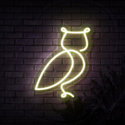Owl Neon Sign - Sketch & Etch Neon