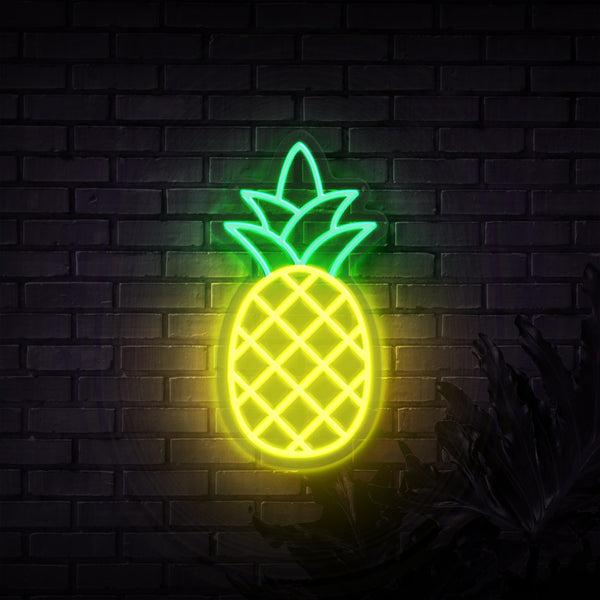 Pineapple Neon Sign - Sketch & Etch Neon