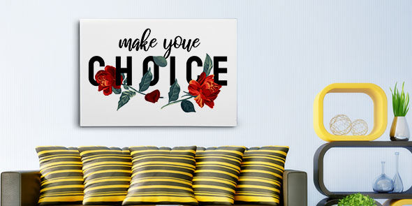 Customized Flower Canvas Prints for Every Corner