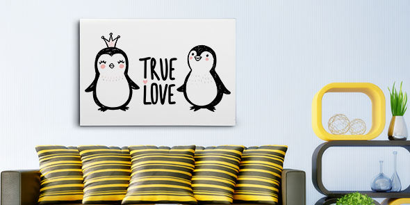 Customized Love Canvas Prints in Every Size