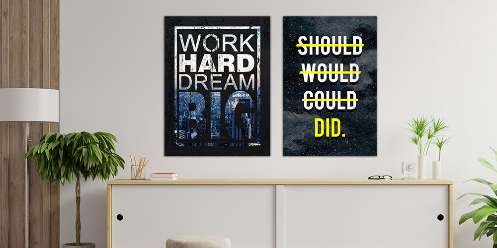 Paint your Walls with Motivational Art