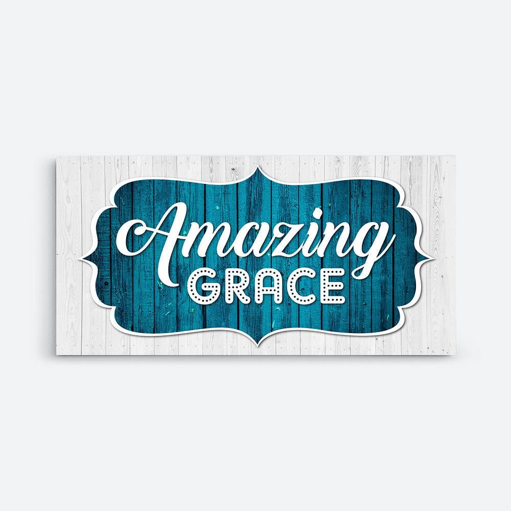 Amazing Grace Canvas Wall Art