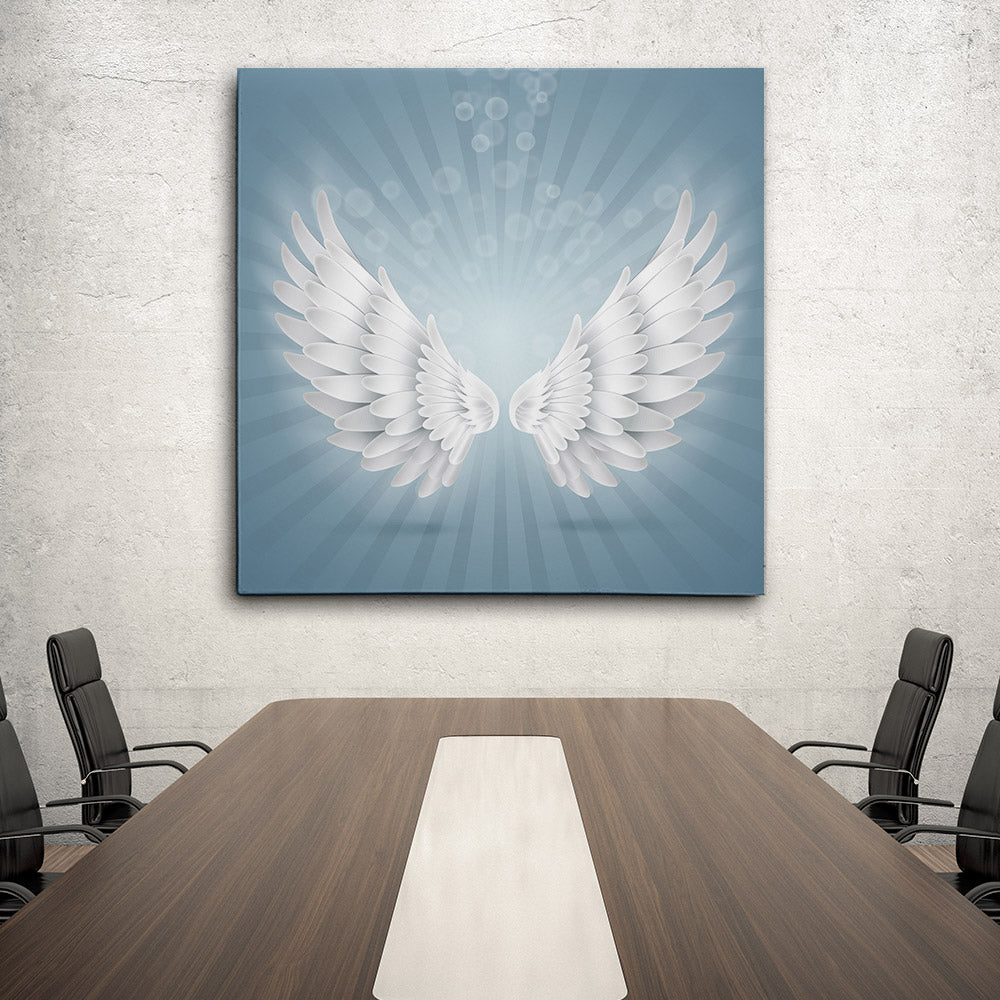Angel Wings Canvas Wall Art