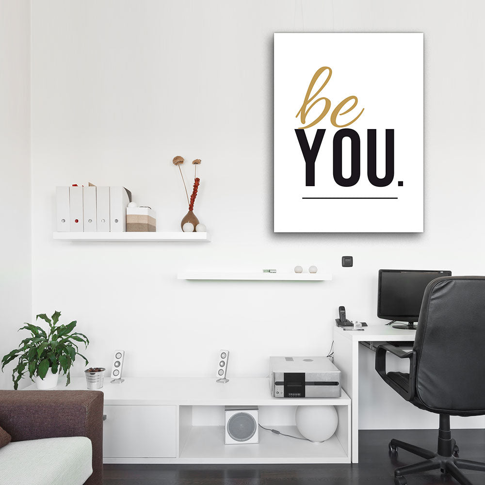 Be You Canvas Wall Art