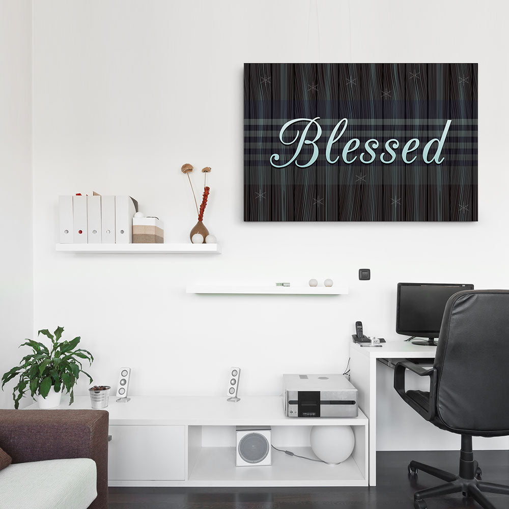 Blessed Canvas Wall Art