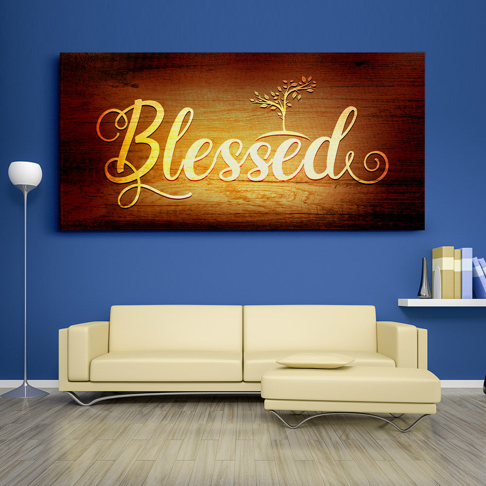 Blessed Christian Wall Art