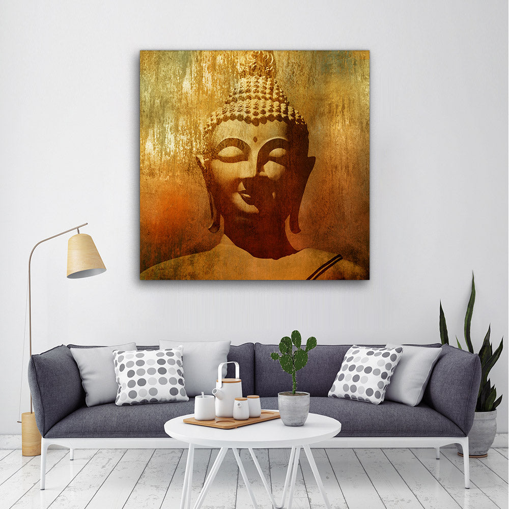 Decorate your walls with Buddha wall art, canvas prints from Makemyprints!