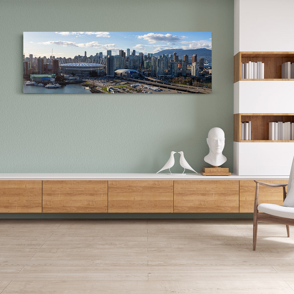 Canada Panorama Canvas Wall Art