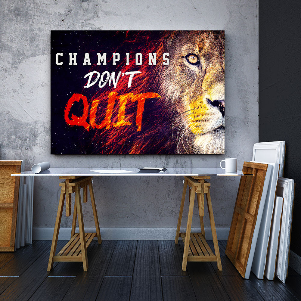 Champions Don't Quit
