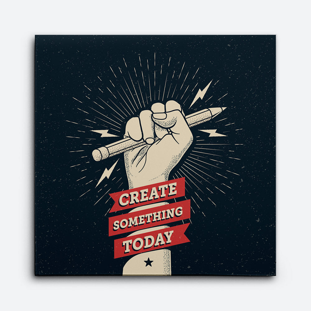 Create Something Today Canvas Wall Art