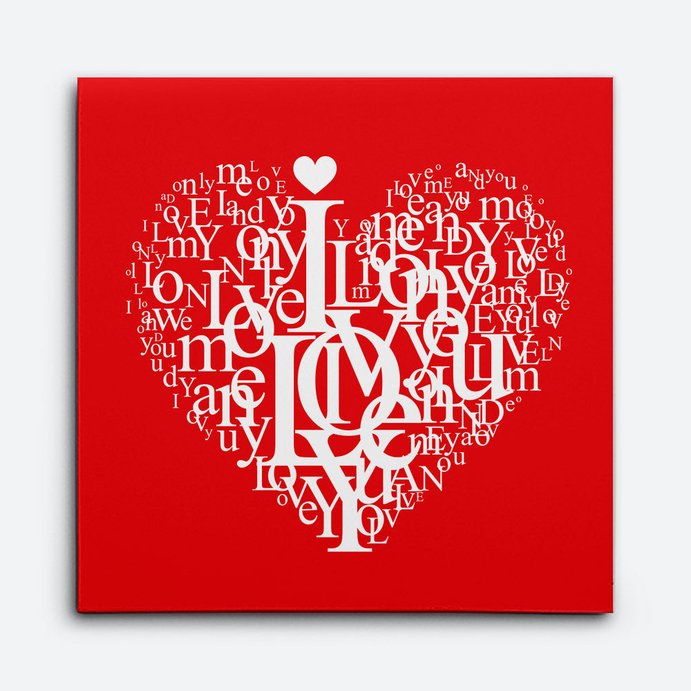 Cute Good Morning Love Canvas Wall Art for your Home or Office. Motivational, inspirational and modern canvas wall art for your Home or Office.