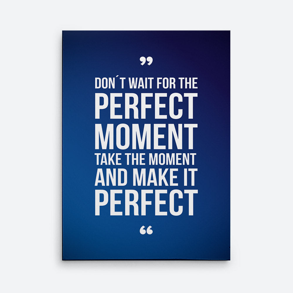 Perfect Moment Canvas Wall Art