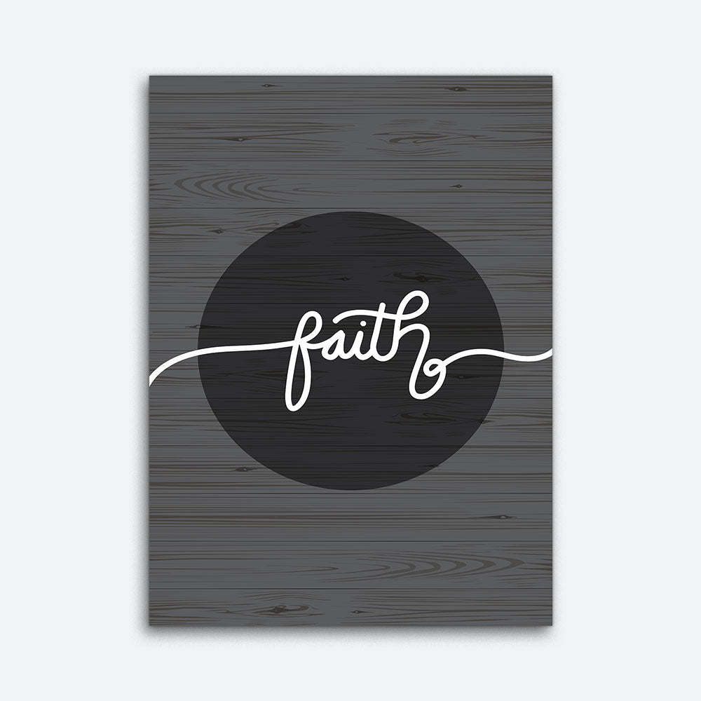Faith Canvas Wall Art