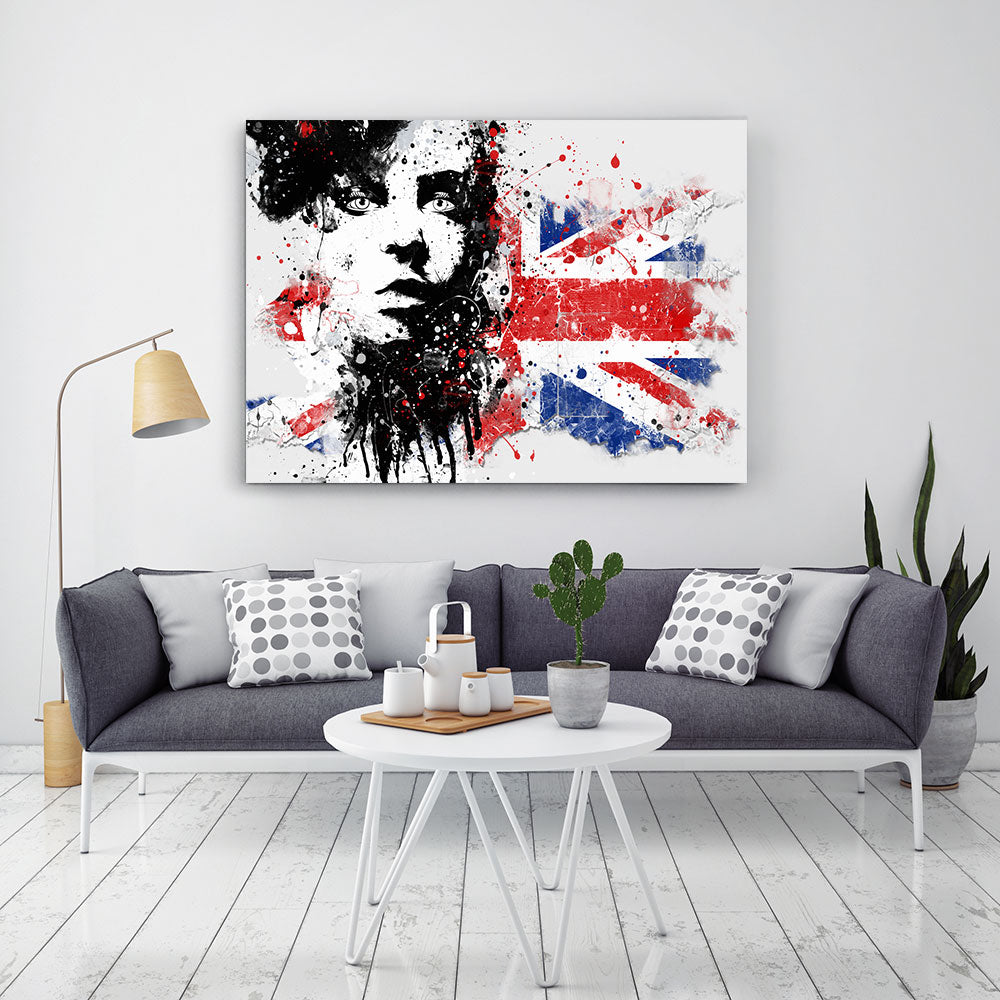 Fashion Girl Canvas Wall Art v20