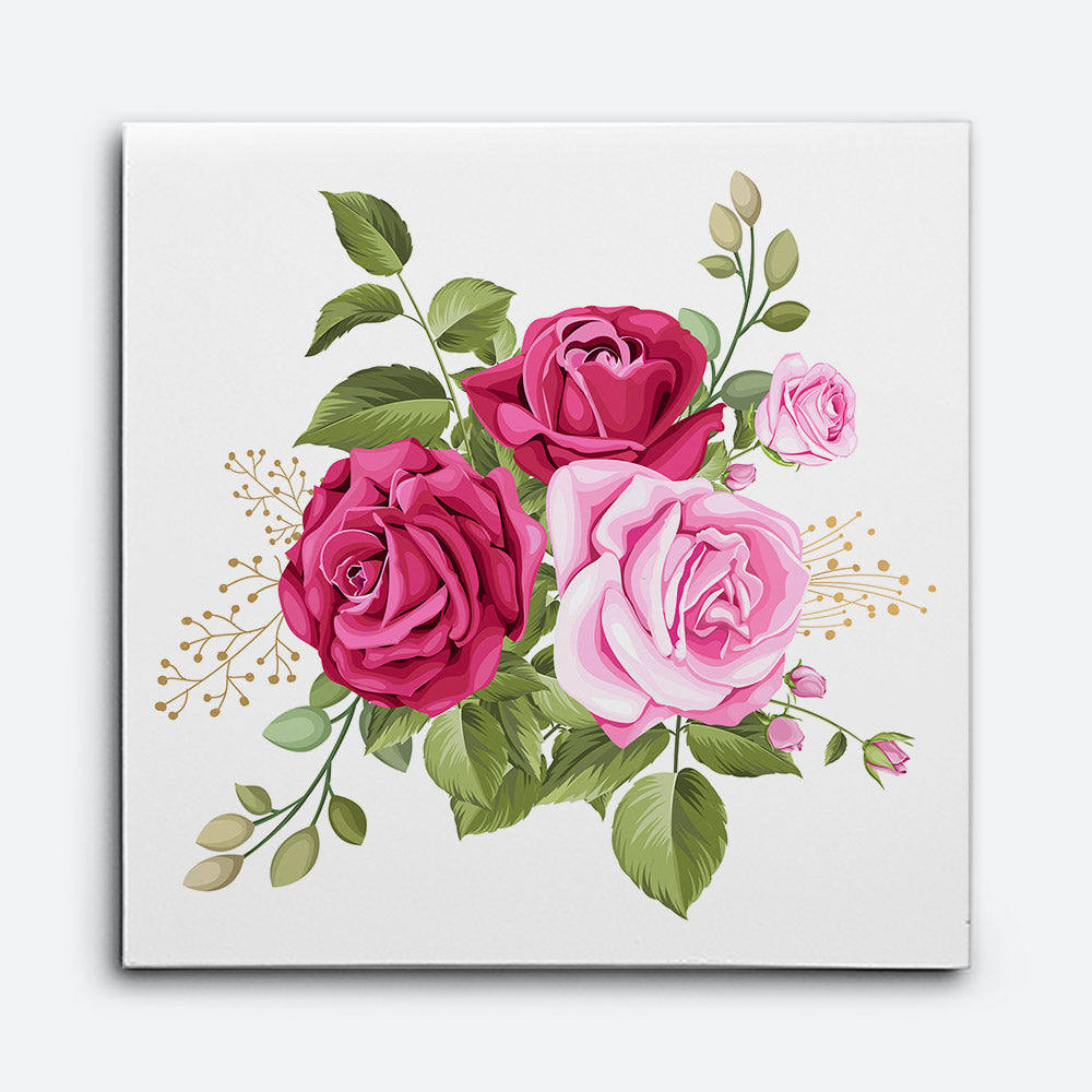 Flower Canvas Wall Art for your Home or Office. Motivational, inspirational and modern canvas wall art for your Home or Office.