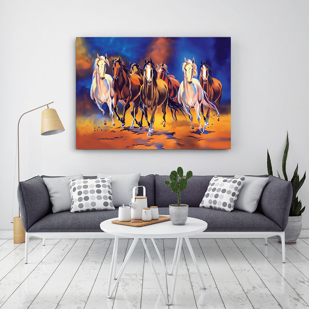 Horse Painting Canvas Wall Art