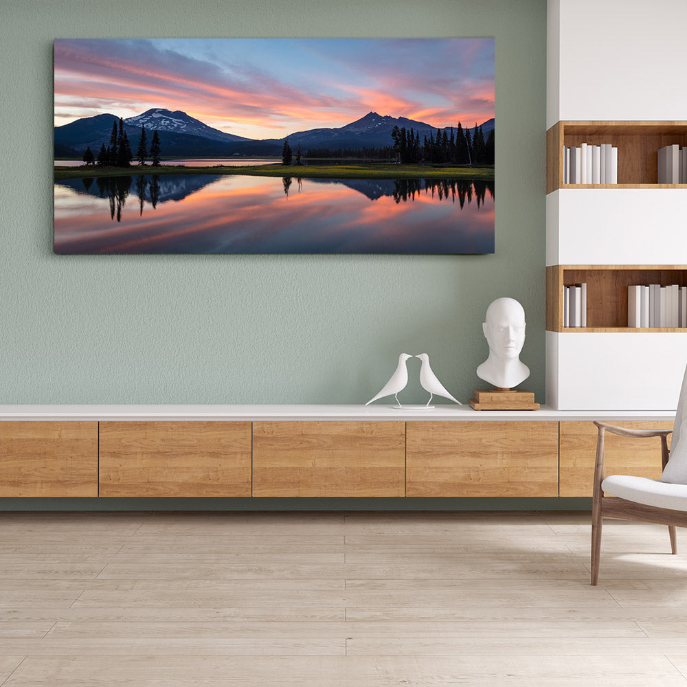 Sparks Lake Canvas Wall Art