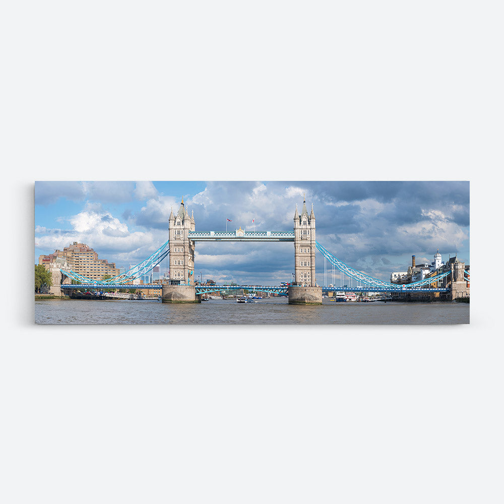 Tower Bridge London Panorama Canvas Wall Art
