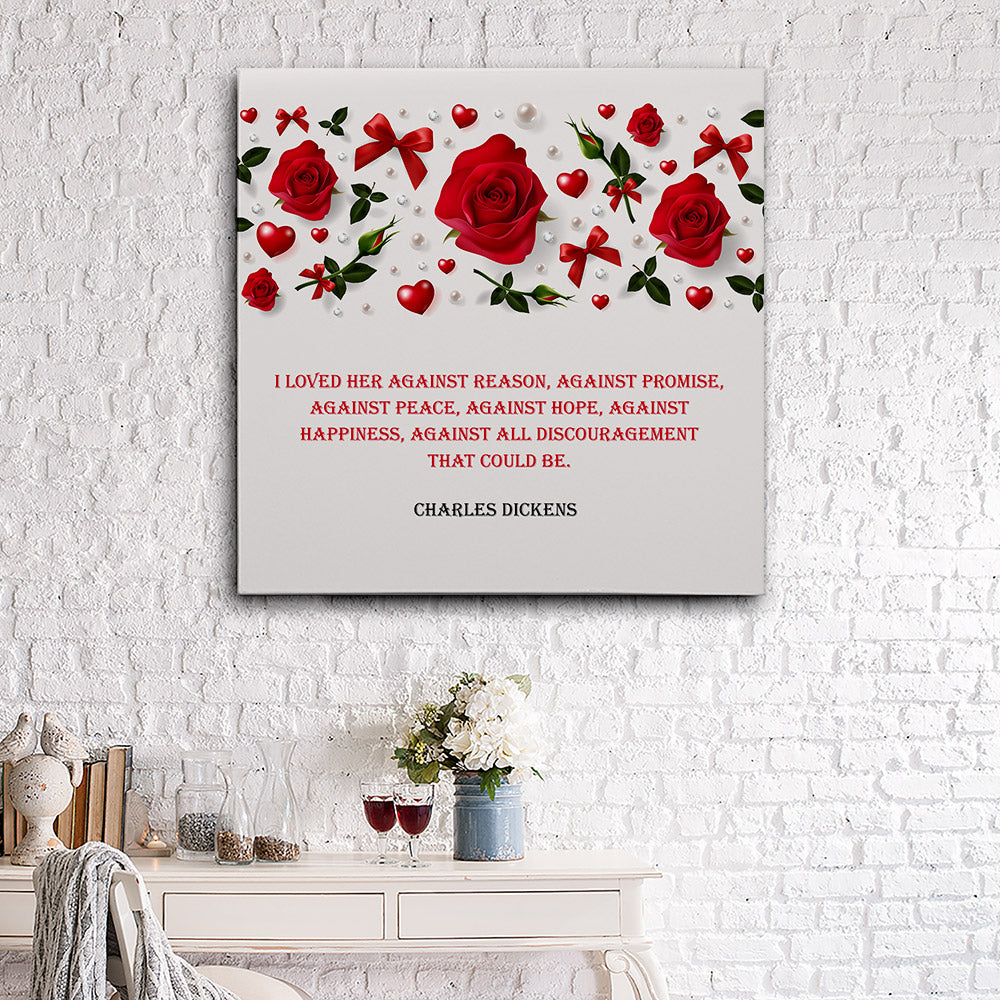 Love Quotes Canvas Wall Art for your Home or Office. Motivational, inspirational and modern canvas wall art for your Home or Office.