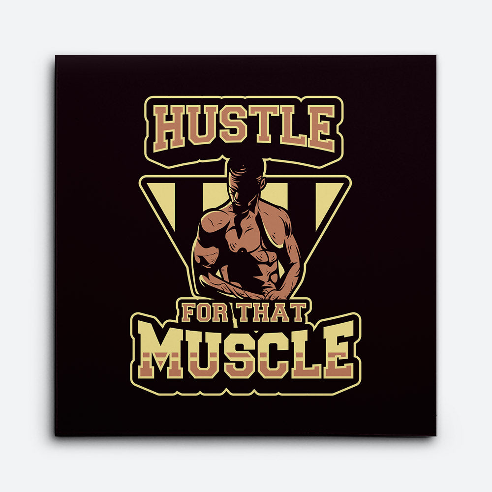Man With Dumbbell Canvas Wall Art for your Home or Office. Motivational, inspirational and modern canvas wall art for your Home or Office.