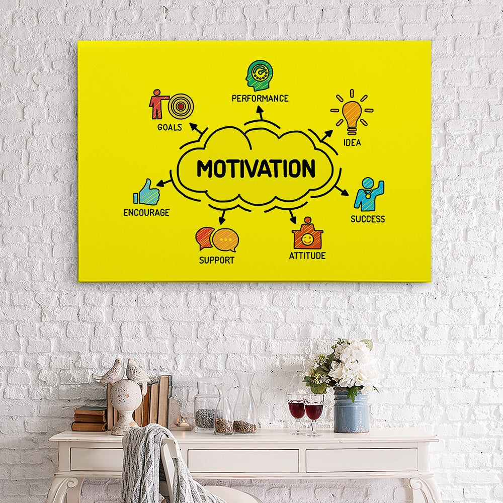 Motivation Canvas Wall Art for your Home or Office. Motivational, inspirational and modern canvas wall art for your Home or Office.