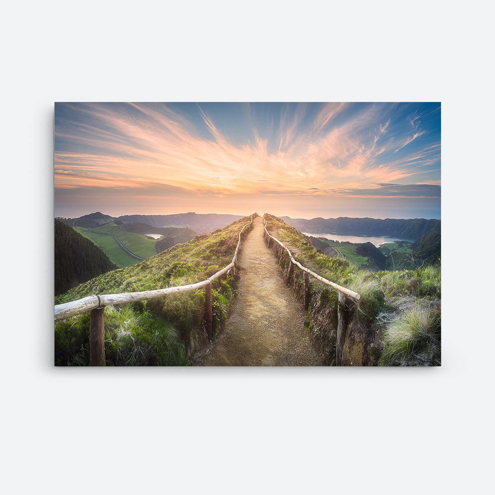 Mountain Landscape Canvas Wall Art