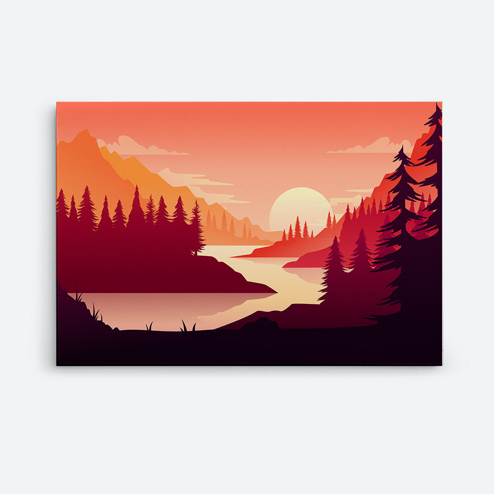 Nature Canvas Wall Art