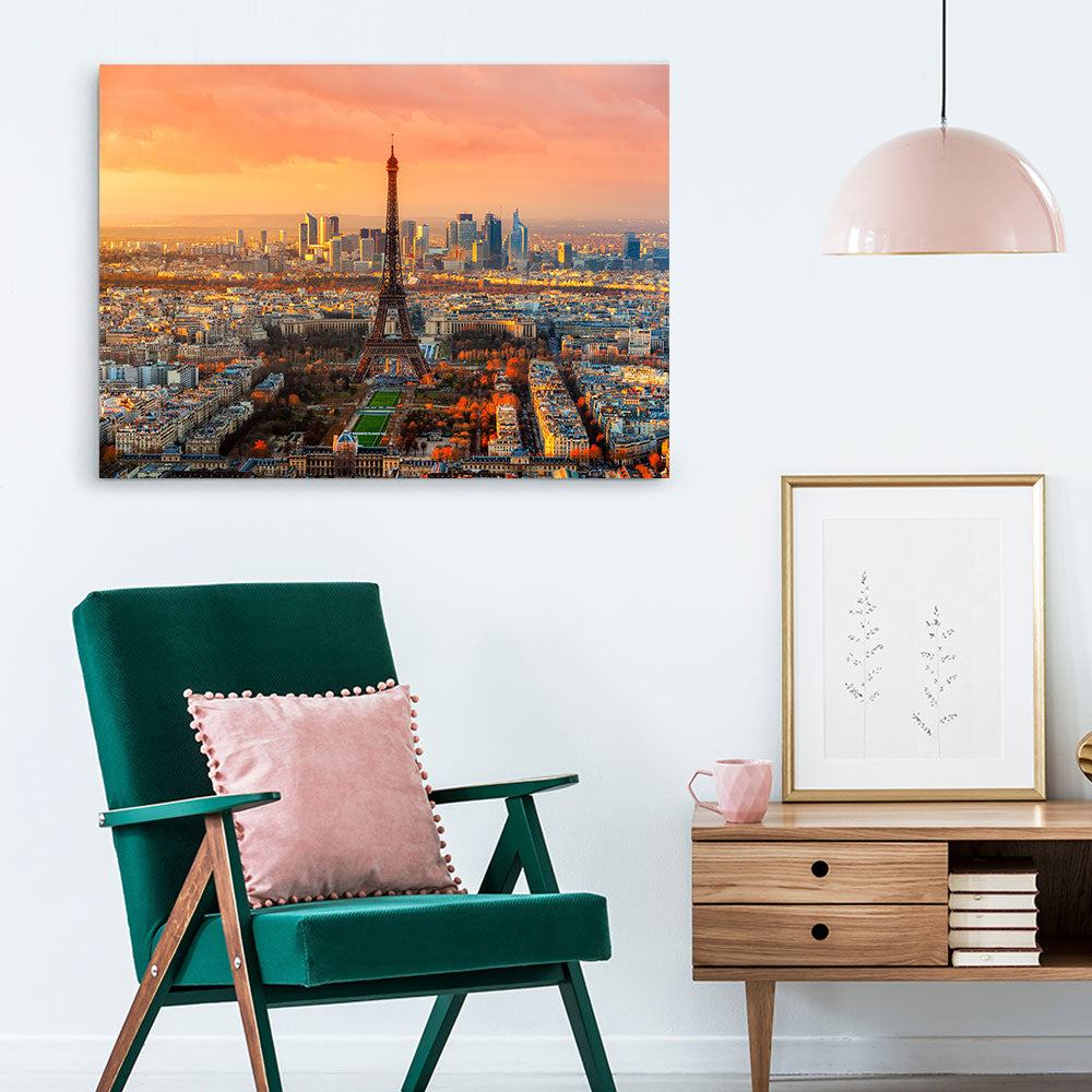 Paris Canvas Wall Art