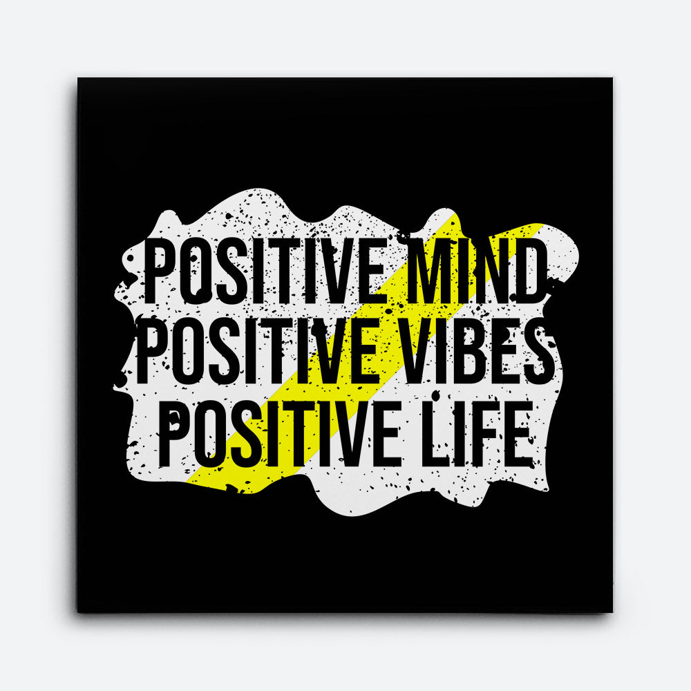 Positive Mind Canvas Wall Art for your Home or Office. Motivational, inspirational and modern canvas wall art for your Home or Office.