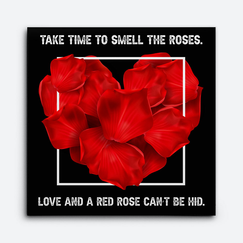 Red Rose Canvas Wall Art for your Home or Office. Motivational, inspirational and modern canvas wall art for your Home or Office.
