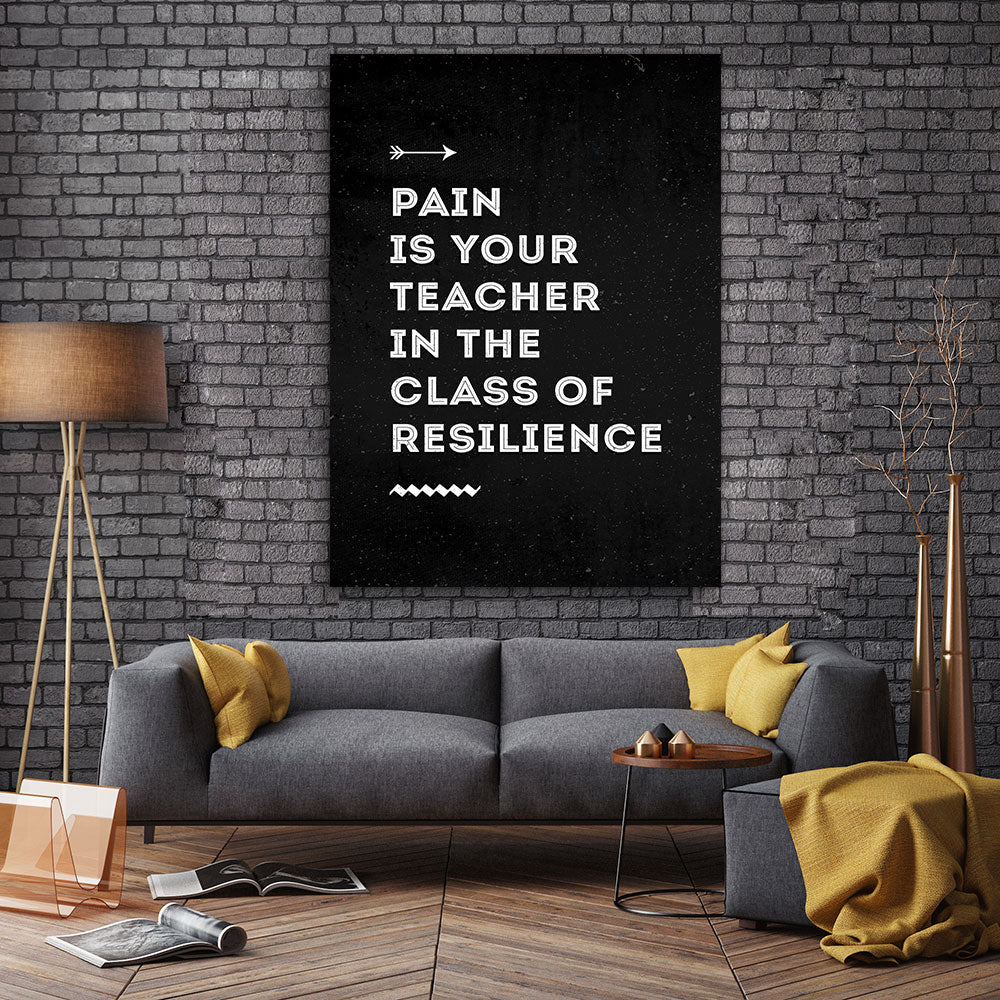 Resilience Canvas Wall Art