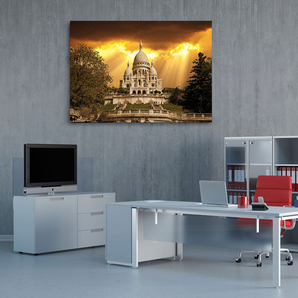 Sacre Coeur Canvas Wall Art