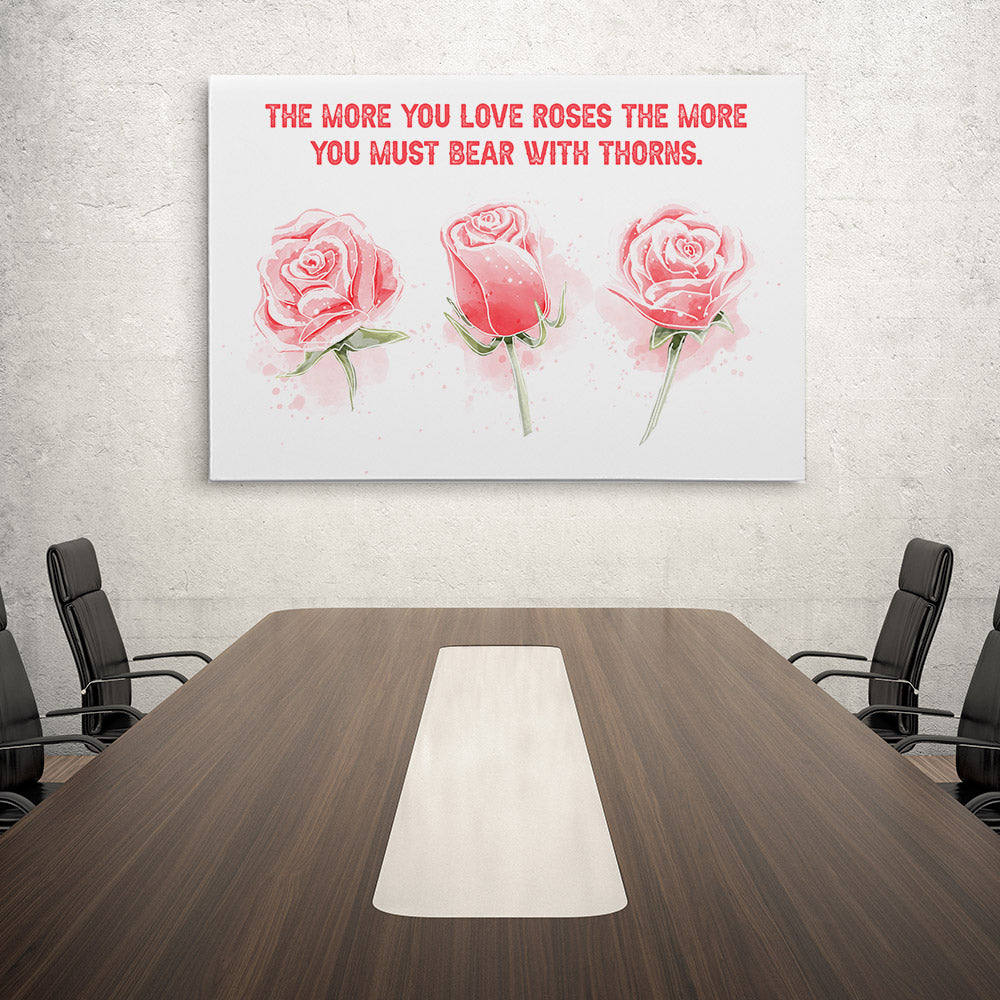Set Roses Canvas Wall Art for your Home or Office. Motivational, inspirational and modern canvas wall art for your Home or Office.