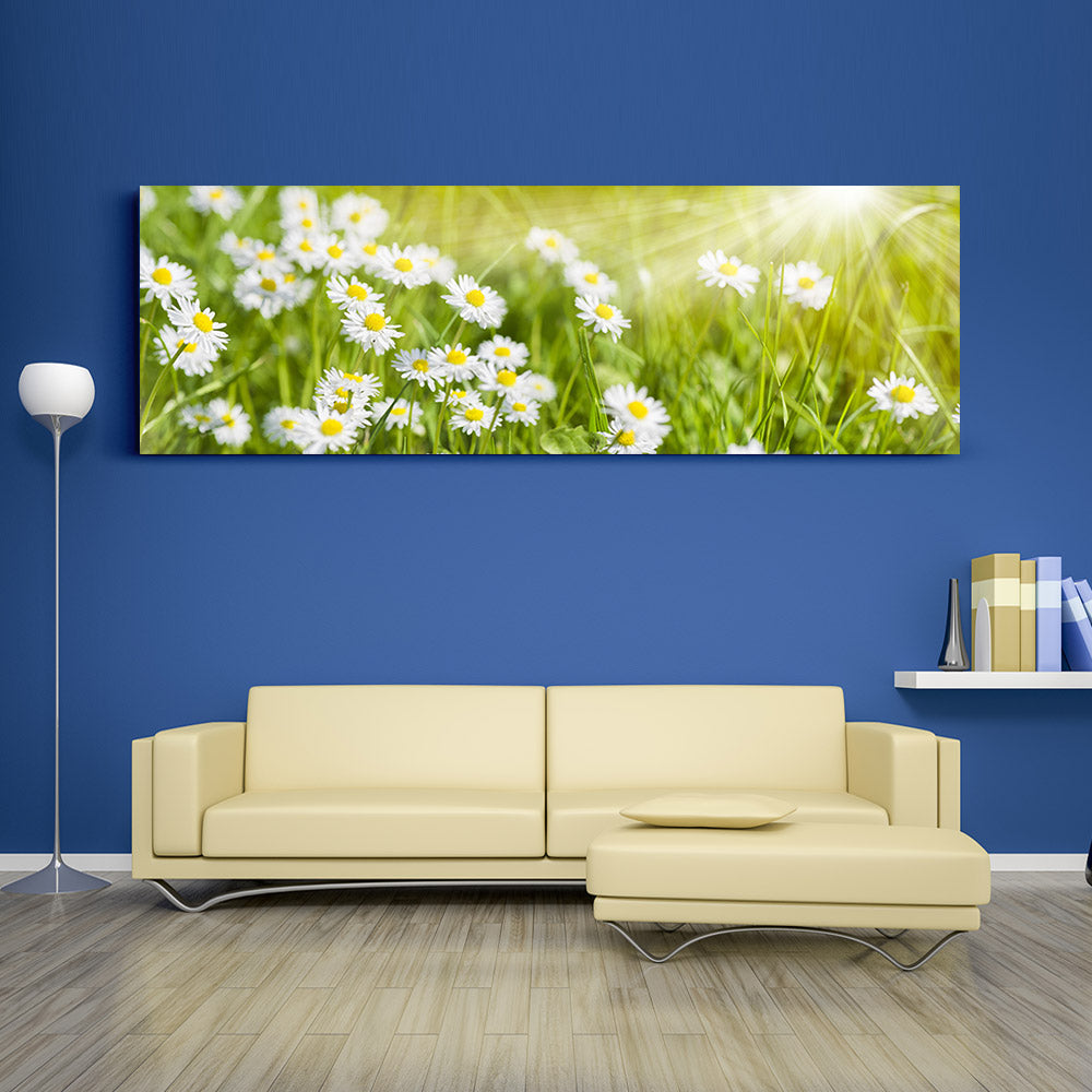 Spring Meadow Canvas Wall Art