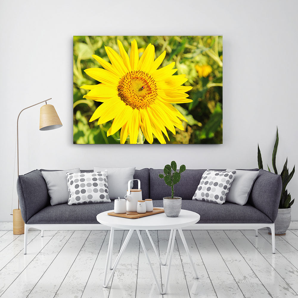 Sunflower Bouquet Canvas Wall Art