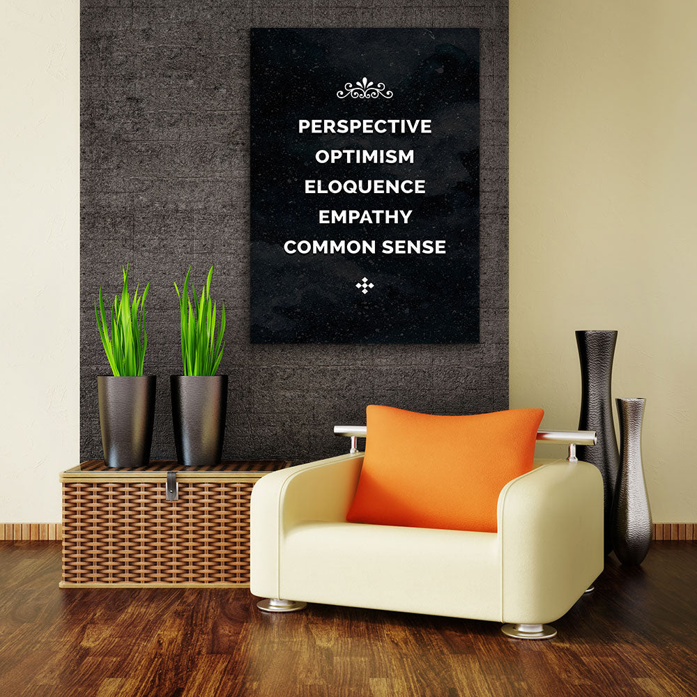The Five Pillars Canvas Wall Art