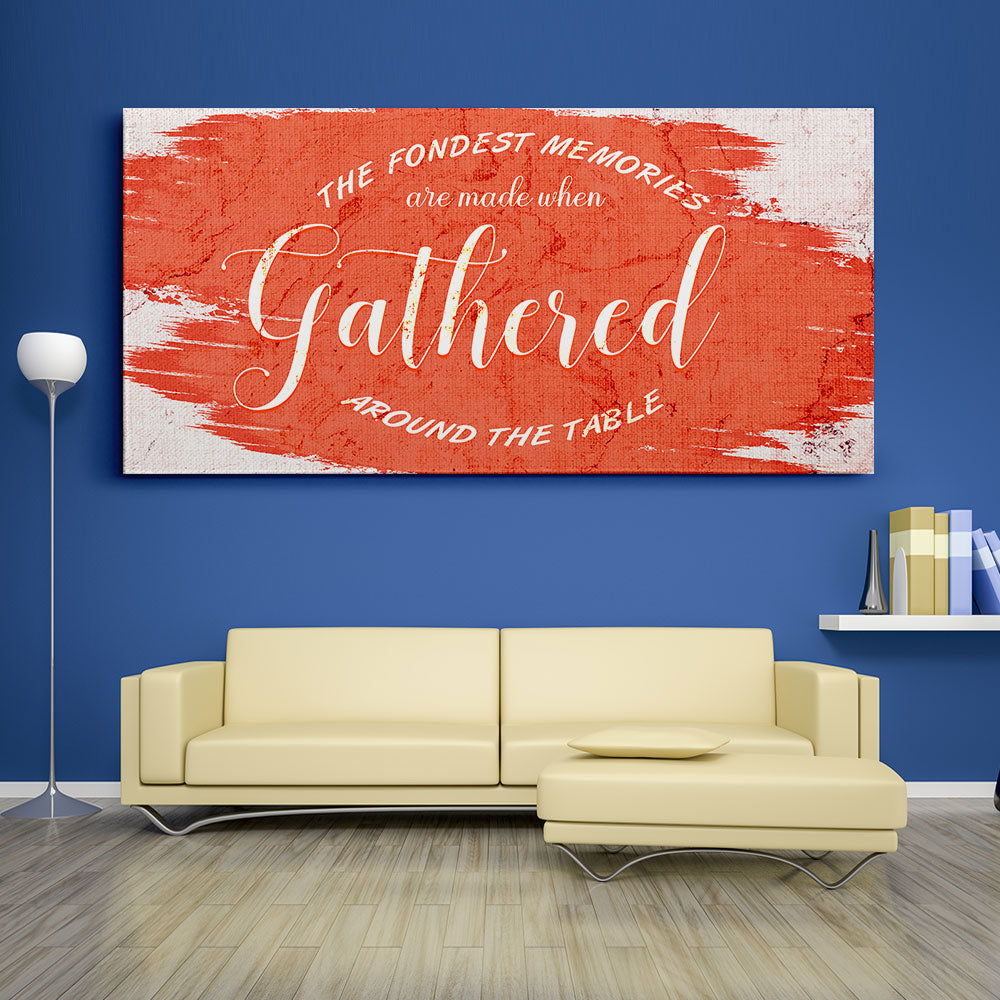 The Fondest Memories Gathered Christian Wall Art