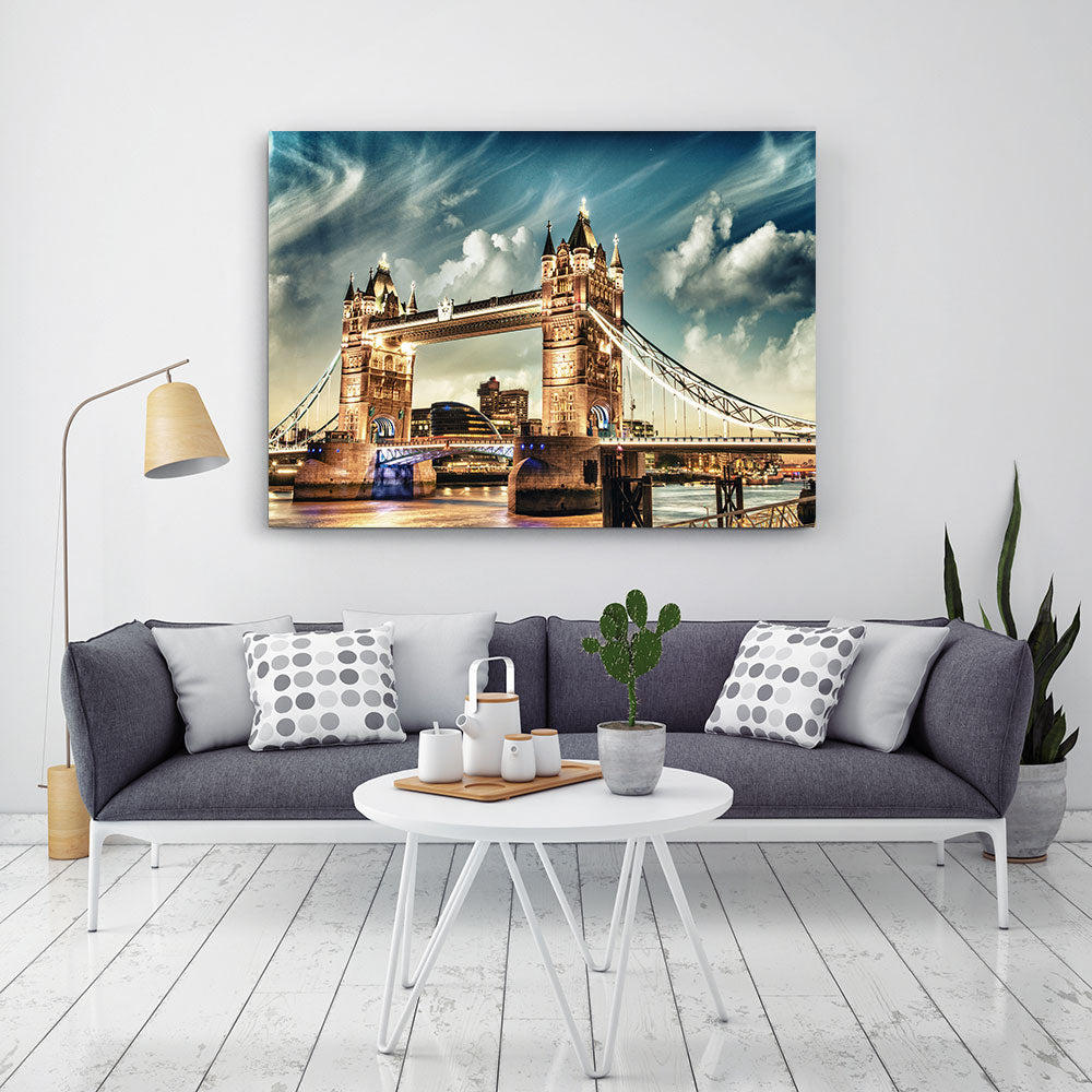 Tower Bridge London Canvas Wall Art
