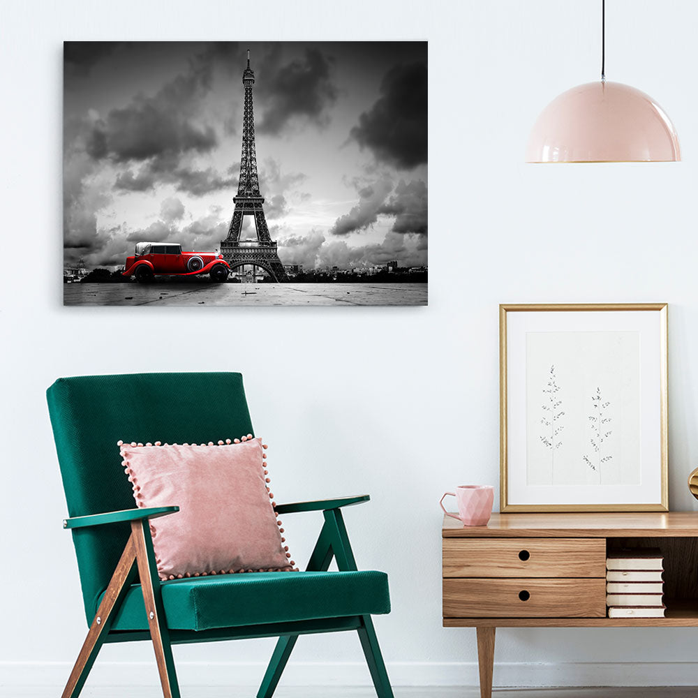 Tower Paris Canvas Wall Art