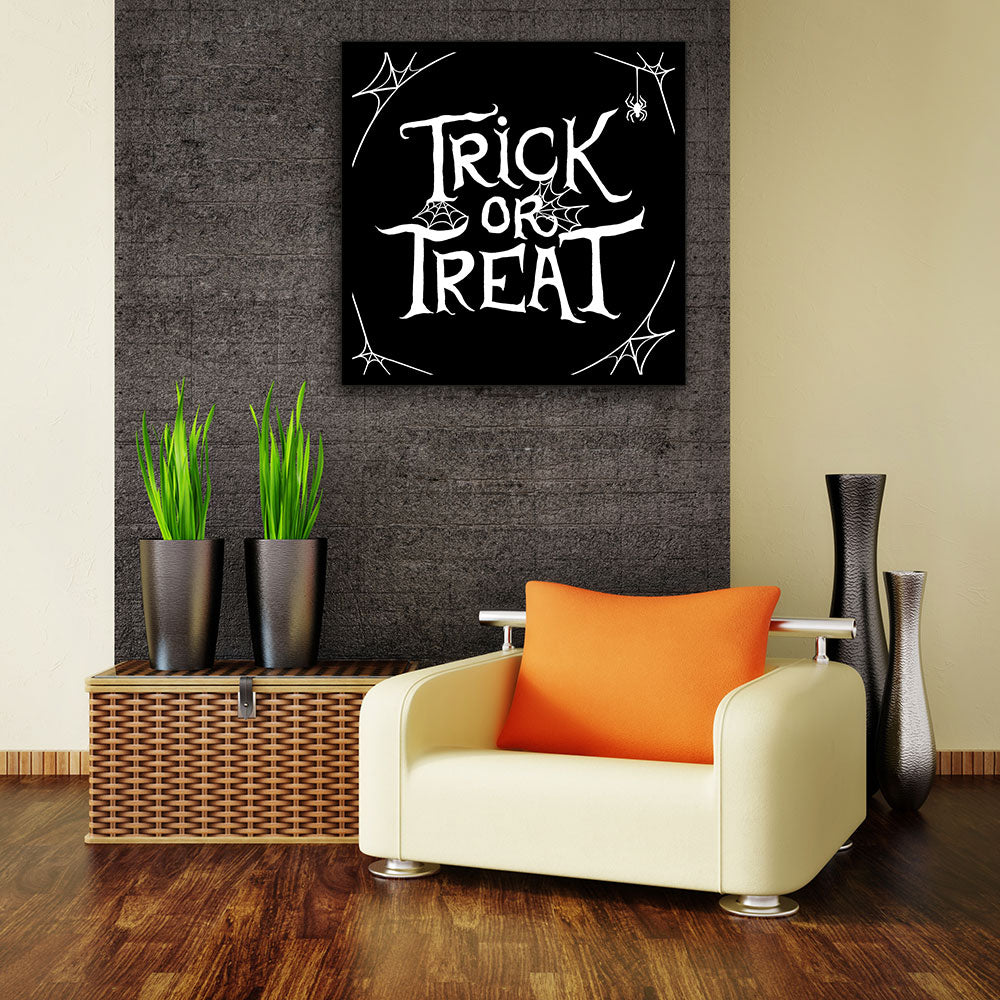 Trick or Treat Canvas Wall Art