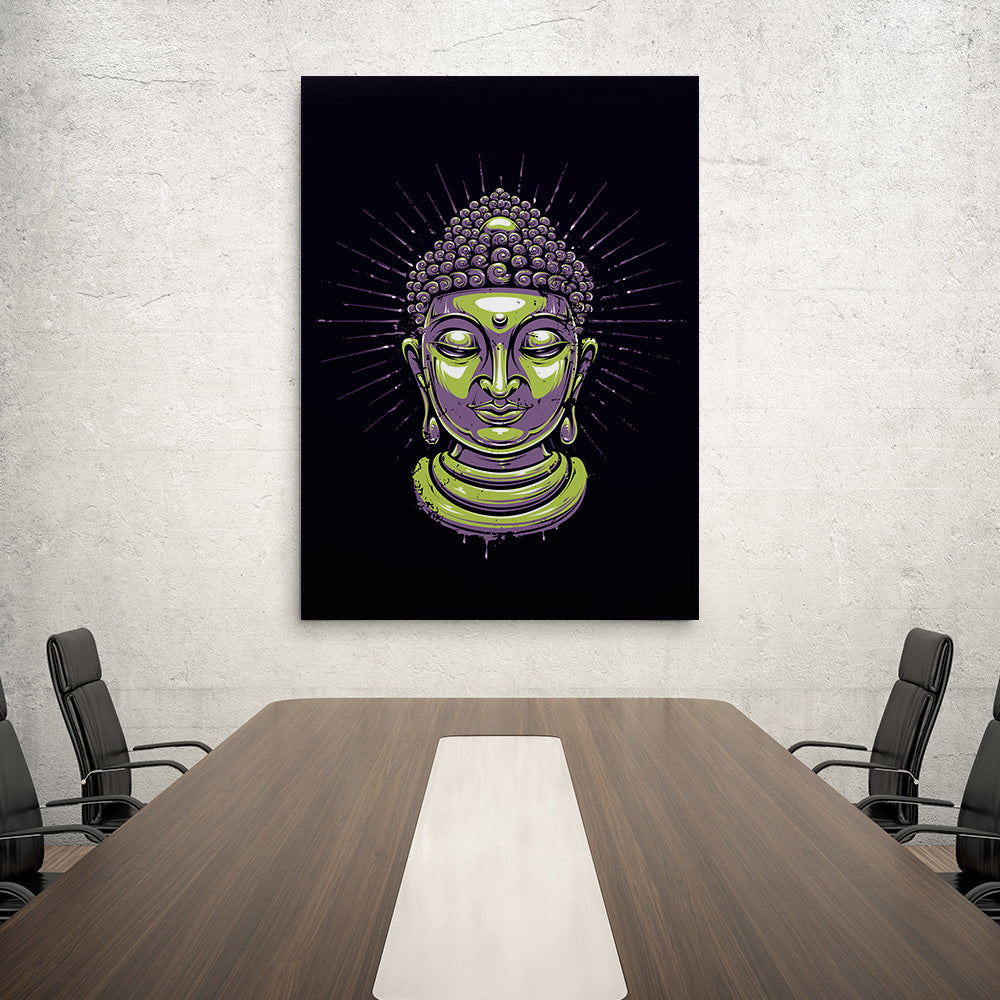 Zen Canvas Wall Art