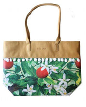 """Upload the image to the Gallery viewer, """"Oranges and Zagara"""" Bag"""
