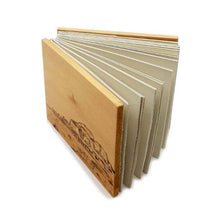 """Upload the image to the Gallery viewer, """"Cefalú"""" Wooden Diary - 20% DISCOUNT -"""