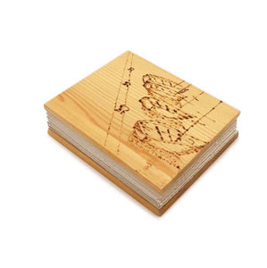 """Wooden Diary """"Boats"""" - 20% DISCOUNT -"""