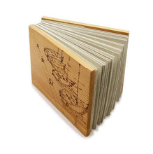 """Upload the image to the Gallery viewer, Wooden Diary """"Boats"""" - 20% DISCOUNT -"""
