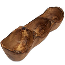 Upload the image to the Gallery Viewer, Rustic Olive Wood Appetizer Bowl