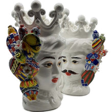 Upload the image to the Gallery viewer, Pair of Moor's Heads - Ivy Line -