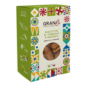 GraniSi - Tumminia and Maiorca biscuits - Sicilian Ancient Grains - 210 gr - 20% DISCOUNT -